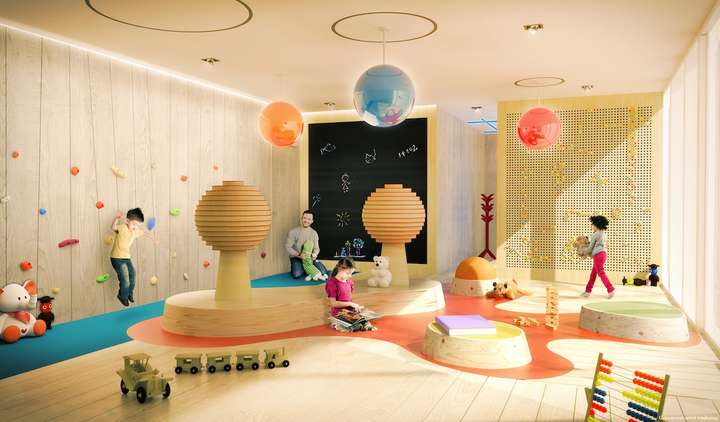 Brickell Flatiron Children's Playroom