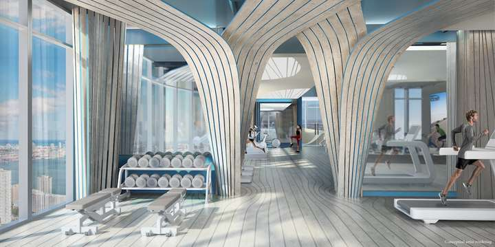 Brickell Flatiron Sky Gym