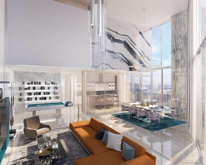 Brickell Flatiron Upper Penthouse