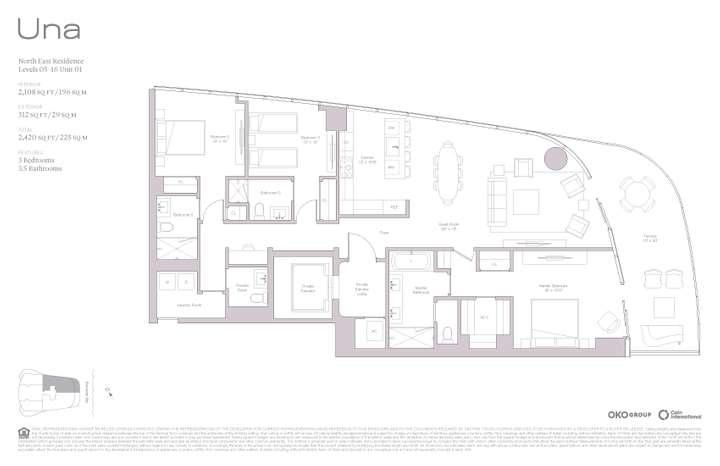 Una Residences 01 NE Residence Level 05-16