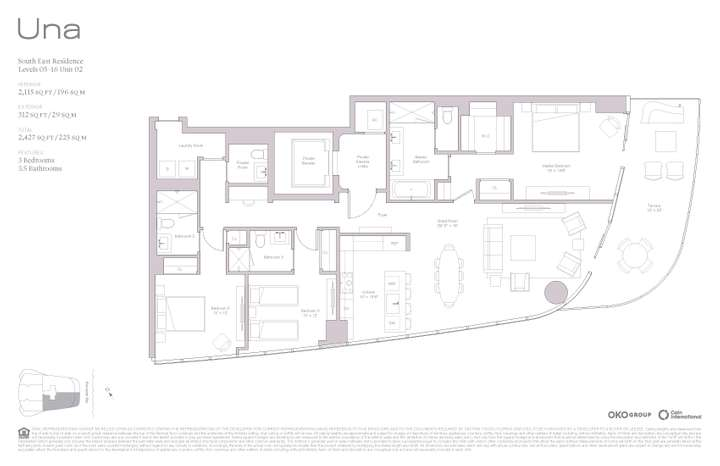 Una Residences 02 SE Residence Levels 05-16