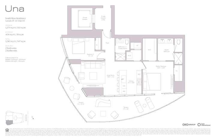 Una Residences 03 SW Residence Levels 05-16