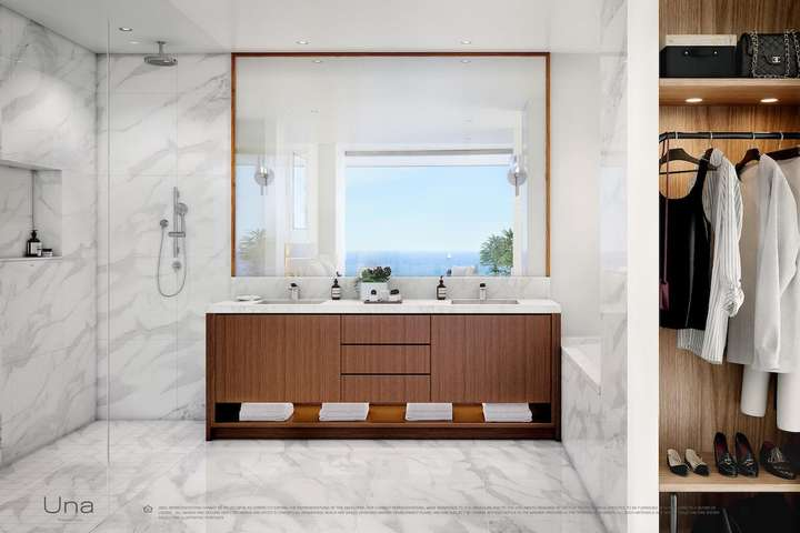 UNA Residences Miami, Florida, USA | Bathroom