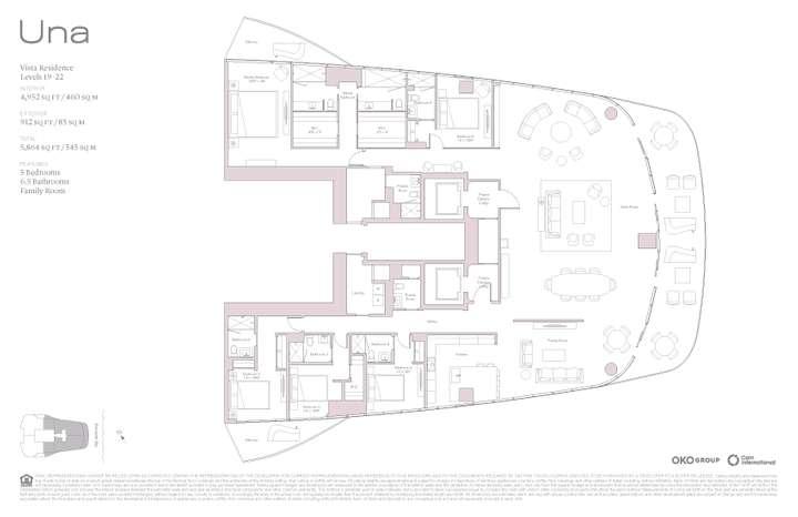 Una Residences Vista Residences Levels 19-22