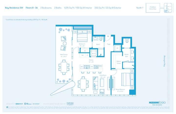 MISSONIbaia Miami, Florida, USA   SW Floors 8-36 2 bed 2 baths