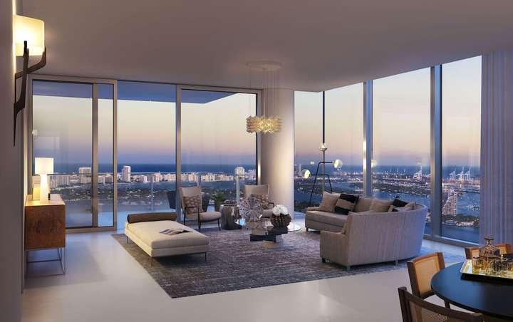 MISSONIbaia Miami, Florida, USA   Living Area Residence 3