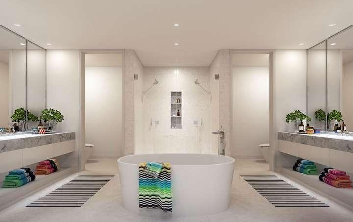 MISSONIbaia Miami, Florida, USA   Master Bathroom
