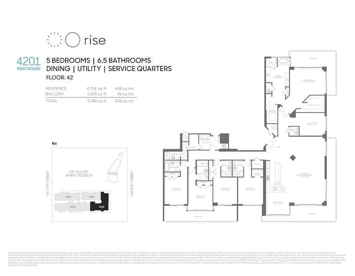 Rise BCC Penthouse 4201