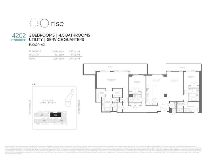 Rise BCC Penthouse 4202