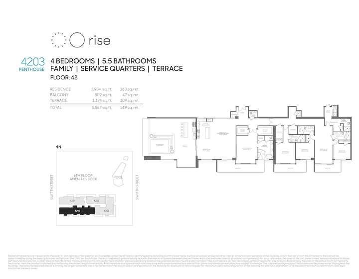 Rise BCC Penthouse 4203