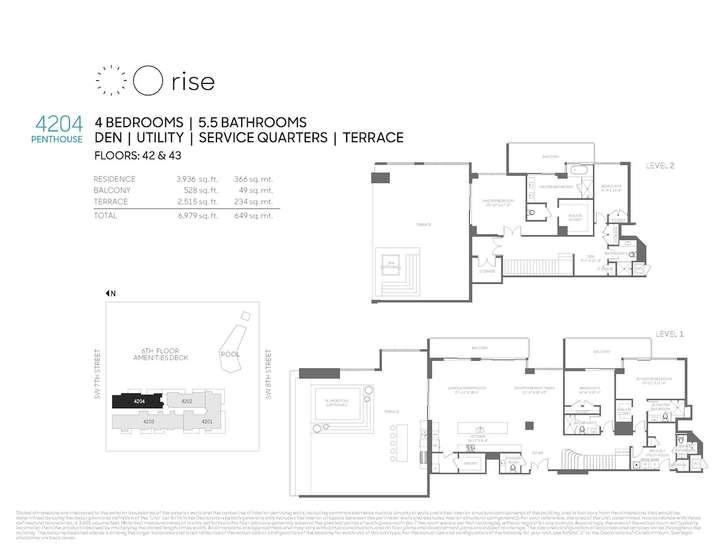 Rise BCC Penthouse 4204