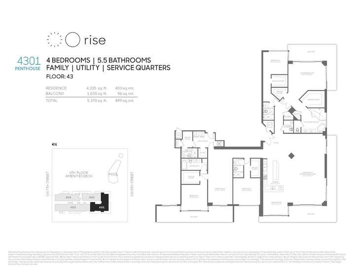 Rise BCC Penthouse 4301