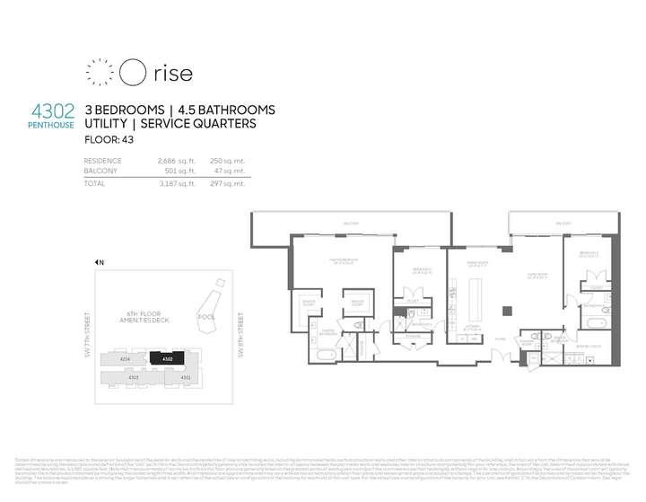 Rise BCC Penthouse 4302