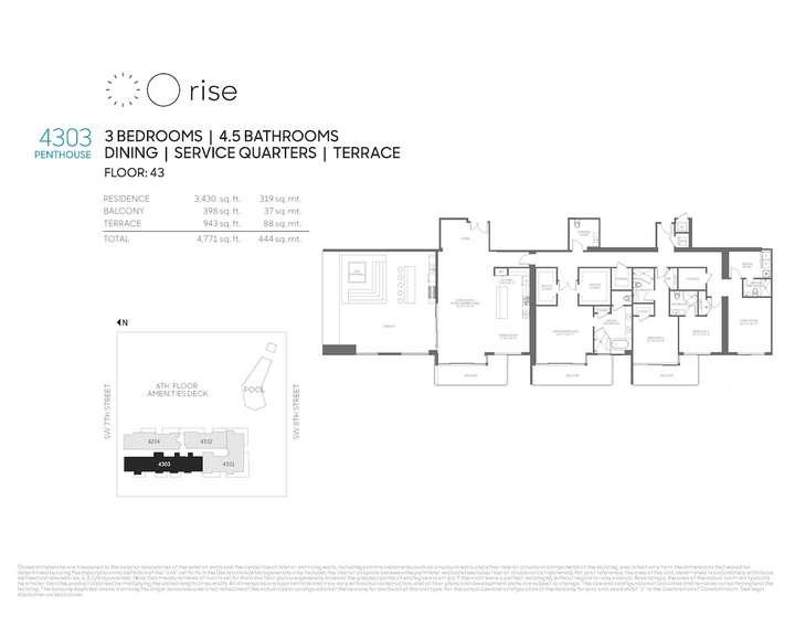 Rise BCC Penthouse 4303