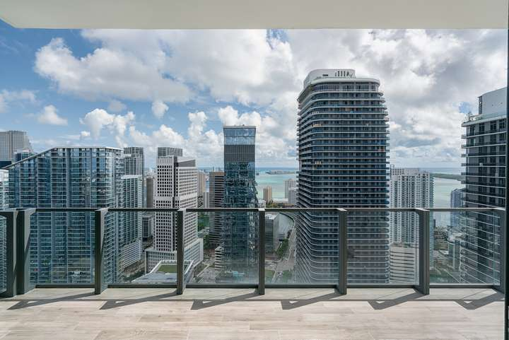 Rise BCC Brickell Miami Florida Penthouse East View